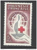 """Polynésie YT 24 """" Croix-Rouge """" 1963 Neuf* - Polynésie Française"""