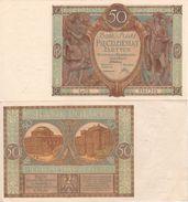 POLAND  50 Zloty   P71  1929    AU/UNC - Poland