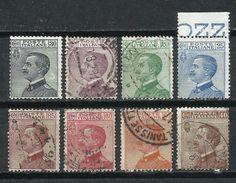 Italia. Lote De Sellos De Víctor Manuel III - 1900-44 Victor Emmanuel III