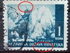 LANDSCAPES-VELEBIT-1 K-ERROR-VOLCANO-RARE-NDH-CROATIA-1941 - Croatia