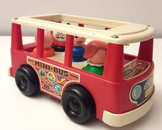 Minibus Fisher-Price Années 1970 - Other Collections