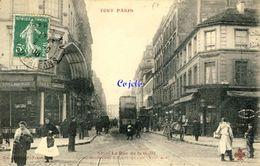 75 - Paris - Rue De La Gaité Au Boulevard Edouard-Quinet - Transport Urbain En Surface
