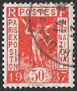 France, Timbre De 1936   '    Y & T  325   '   50 C. Propagande Pour L' Expo Internationale De Paris 1937 - France