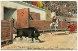 Toros. Salida Del Toro. Stengel & Co 1906 - Otros