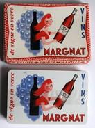 Ancien Jeu De Cartes à Jouer Publicitaire Vins MARGNAT Alcool Belote Piquet Manille - 32 Cartes