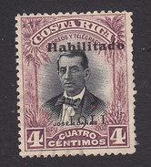 Costa Rica, Scott #81, Used, Jose Canas Overprinted, Issued 1911 - Costa Rica