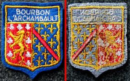 Patch Écusson Tissu Touristique - Allier - Bourbon L'Archambault - Blason - Ecussons Tissu