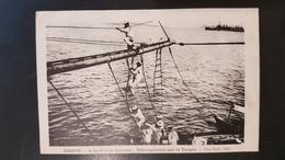 Corfou - A Bord D'un Cuirasse - Grèce