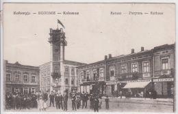 AK - (Ukraine) KOLOMYJA (Kolomea) - Grosser Andrang Am RATHAUSPLATZ 1916 - Ukraine