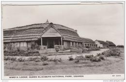 AK - (Uganda) Hotel MWEYA LODGE - Queen Elizabeth National Park  1961 - Uganda
