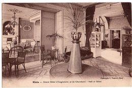 BLOIS  Grand Hôtel D'Angleterre Et De Chambord Hall Et Salon   2 Scans - Blois