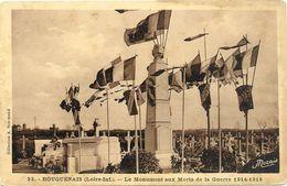 44  BOUGUENAIS    LE  MONUMENT  AUX  MORTS   DE LA GUERRE  1914 1918 - Bouguenais