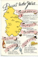 CP39048 - Carte Humoristique Du JURA - Frankreich