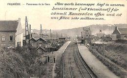 Franière - Panorama De La Gare (animée, Feldpost 1915) - Floreffe