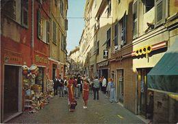 SAVONA - Celle Ligure - Via Aicardi - Tabacchi / Tabacchino / Tabaccheria - Negozio COOP - Animatissima - 1977 - Savona