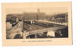 54 - NANCY - GRANDS MOULINS VILGRAIN  - CALENDRIER 1937  Train, Wagons,rails -Imprimerie HELIO LORRAINE Nancy -P.GILLARD - Nancy