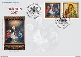 Romania 2017 / Christmas / FDC - Weihnachten