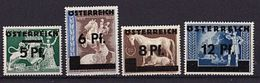 ÖSTERREICH Mi. Nr. 664-667 ** (A-5-19) - 1945-.... 2nd Republic