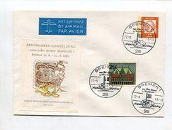 """Bundesrepublik Deutschland / 1965 / Lupo-So-GSU """"Briefmarken-Ausstellung"""" SSt. Bremen (11/161) - [7] República Federal"""