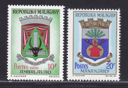 MADAGASCAR N°  437A, 438 ** MNH Neufs Sans Charnière, TB  (D0635) Armoiries - Madagascar (1960-...)
