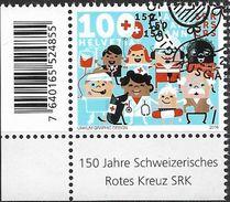 2016 Schweiz Mi. 2439 FD-used 150 Jahre Schweizerisches Rotes Kreuz. - Used Stamps