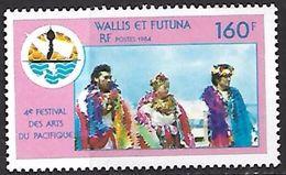 Wallis & Futuna  1984  Arts Festival  MNH**  2016 Scott Value $3.75 - Wallis-Et-Futuna
