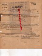 94- VINCENNES- AVIS ARRIVEE GARE VINCENNES FONTENAY-CHEMINS DE FER OUEST-M. SYNTHESSENCE DE MONTREUIL SUR MER-1929 - 1921-1960: Période Moderne
