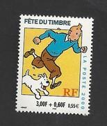 FRANCE Fête Du Timbre 2000 Tintin YT N° P3303A Livraison Gratuite - Ungebraucht