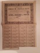 ACTION: CERCLE DU CHATEAU -D'EAU: 1890 - Eau