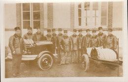 45  °°°°    CEPOY    °°°°   CARTE PHOT DES POMPIERS DEVANT LA MAIRIE     ///////  REF  NOV.  17 /   BO - France