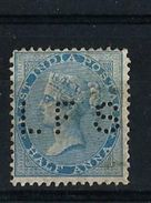 PERFORATION L.F.S. - SUR TIMBRE HALF ANNA -  VICTORIA - 1882-1901 Keizerrijk