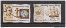 Australian Antarctic Territory AAT 1972 Captain Cook  Anniversary Set 2 MNH - Australian Antarctic Territory (AAT)
