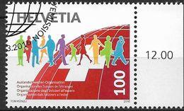 2016 Schweiz Mi. 2438 FD-used  100 Jahre Auslandschweizer-Organisation. - Used Stamps