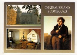 CP  10*15-Z1433-CHATEAUBRIAND A COMBOURG MULTIVUES - Combourg