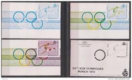E 120 ** 4 Kleurproeven Hordenlopen/4 épreuves Des Coleurs / Course De Haies - Commemorative Labels