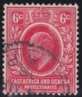 East Africa  & Uganda     .    SG   .   36        .      O  .     Gebruikt   .    /   .            Cancelled - Protectorados De África Oriental Y Uganda