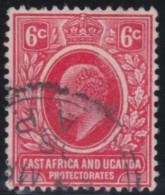 East Africa  & Uganda     .    SG   .   36        .      O  .     Gebruikt   .    /   .            Cancelled - East Africa & Uganda Protectorates