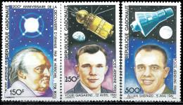 GABON - 200e Anniversaire De La Découverte De La Planète Uranus - Gabon (1960-...)