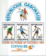 GABON - Vainqueurs De La Coupe De Football 1982 (feuillet) - Gabon
