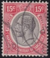 Tanganyika     .    SG   .    95      .        O       .        Gebruikt   .    /   .     Cancelled - Kenya, Uganda & Tanganyika