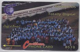 BARBADOS - TOTALLY DIGITAL - 7CBDA - Barbados