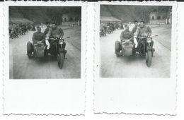 2 Small Photos Motor Bikes.Veles.Macedonia 1959 - Moto