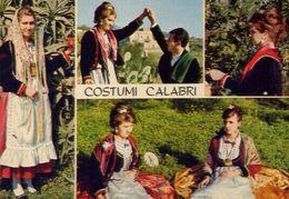 Costumi Calabri - 14 - Formato Grande Non Viaggiata – E 3 - Italia