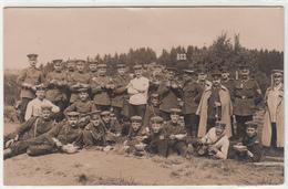 CPA ALLEMANDE-Groupe Militaires Soldats  Allemand Pose Photo  (guerre14-18)2scans - Weltkrieg 1914-18