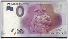 Billet Touristique 0 Euro 2016   Buste De Napoléon 1er  épuisé - Essais Privés / Non-officiels