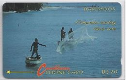 BARBADOS - FISHERMEN CASTING - 9CBDB - Barbados