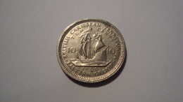 MONNAIE CARAIBES ORIENTALES 10 CENTS 1965 - Caribe Oriental (Estados Del)