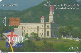TARJETA TELEFONICA DE CUBA (SANTUARIO DE LA VIRGEN DE LA CARIDAD DEL COBRE) (340) - Cuba