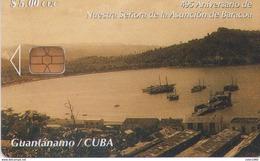 TARJETA TELEFONICA DE CUBA (GUANTÁNAMO) (343) - Cuba