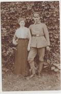 CPA ALLEMAND-Militaire Allemand Et Femme.(guerre14-18)2scans - Guerre 1914-18